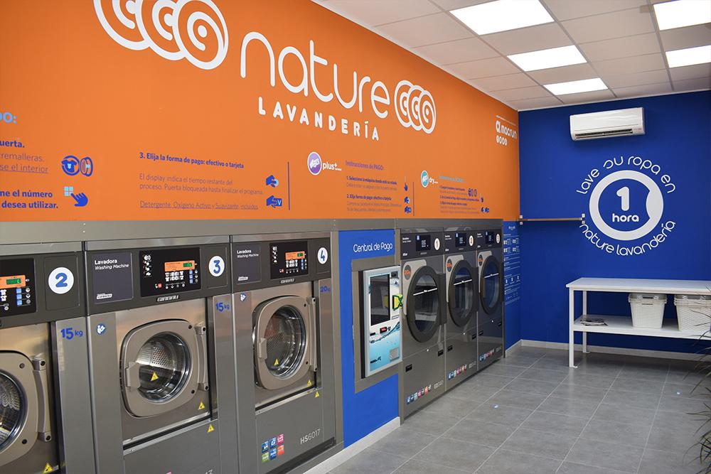 Lavandería autoservicio Sevilla Este